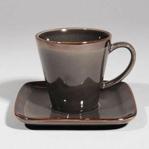 Maisons du monde - tasse à café allure anthracite - Taza De Café