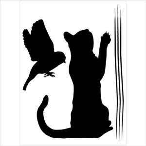 ALFRED CREATION - sticker velours - attrape-moi - Pegatina