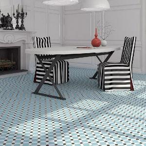 CasaLux Home Design - celeste bleu clair - Baldosas De Gres Para Suelo