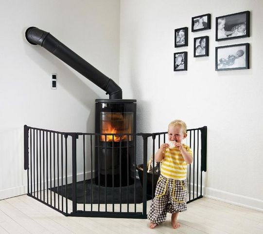 BABYDAN - Barrera de seguridad para niño-BABYDAN-Barrire de scurit modulable Flex L - noir