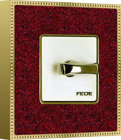 FEDE - Interruptor rotativo-FEDE-BELLE ÉPOQUE CORINTO COLLECTION