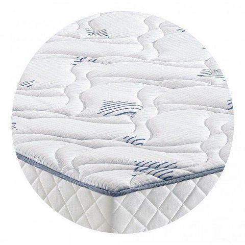 WHITE LABEL - Colchón de muelles-WHITE LABEL-Matelas STUNY MERINOS à ressorts ensachés longueur