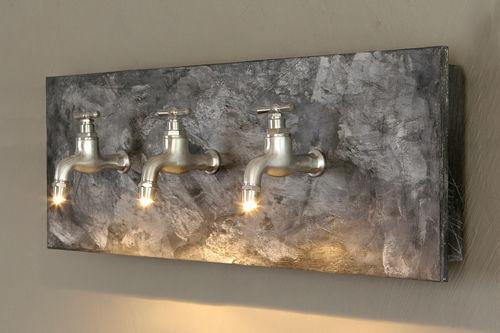 Maxime Chanet Design - lámpara de pared-Maxime Chanet Design-Applique Scenedo béton