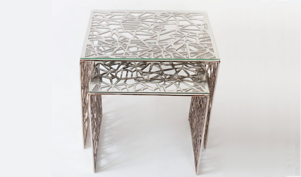 Joachim Holländer Tavolini sovrapponibili Tavolo d'appoggio Tavoli e Mobili Vari  |