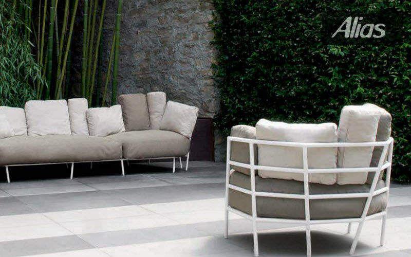 ALIAS Divano da giardino Salotti da giardino completi Giardino Arredo Terrazzo | Design Contemporaneo
