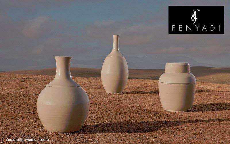 FENYADI Vaso di porcellana Coppe e contenitori Oggetti decorativi Terrazzo | Esotico