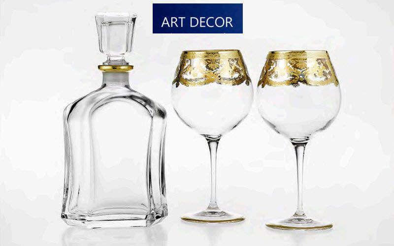 Art Decor Servizio di bicchieri Servizi di bicchieri Bicchieri, Caraffe e Bottiglie  |