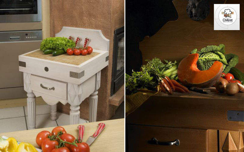 CHABRET Credenzina da cucina Carrelli e tavolini Attrezzatura della cucina   |