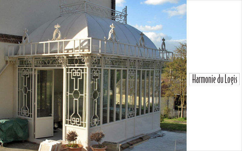 HARMONIE DU LOGIS Orangerie Verande Giardino Tettoie Cancelli...  |