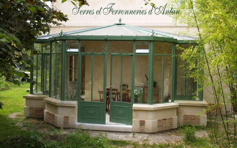 Serres et Ferronneries d'Antan Veranda Verande Giardino Tettoie Cancelli...  |