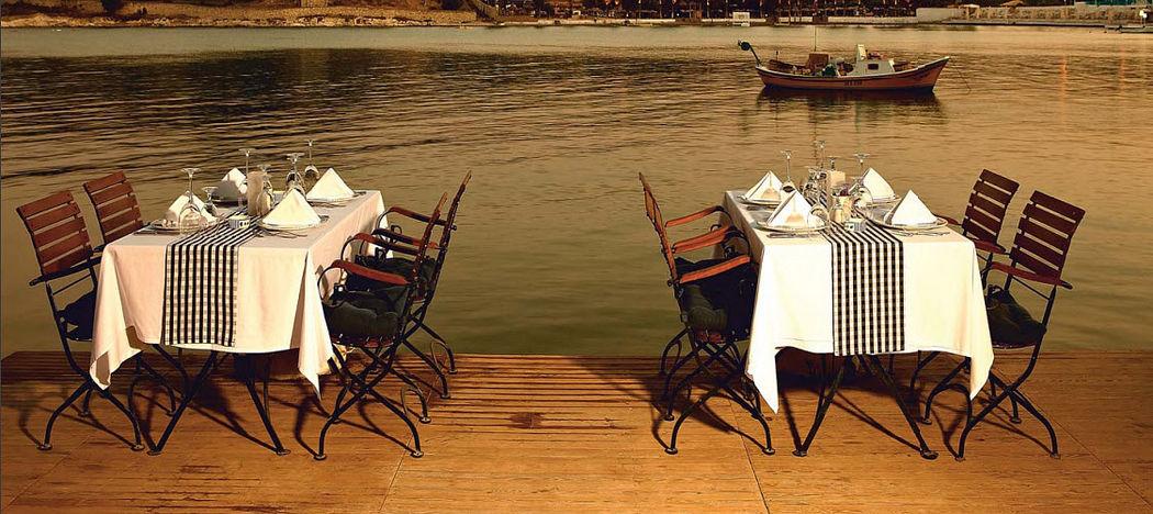 DEMAR FORGE Set tavolo e sedie da giardino Tavoli da giardino Giardino Arredo  |