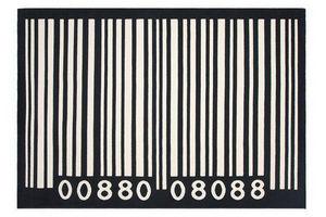 KOKOON DESIGN - tapis code barre en polypropylène 230x160cm - Tappeto Moderno