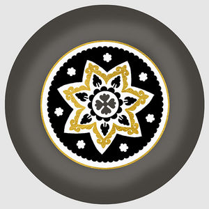 Design Atelier - golden star - Piatto Decorativo