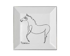 MARC DE LADOUCETTE PARIS - picasso le cheval 1920 27x27cm - Svuotatasche