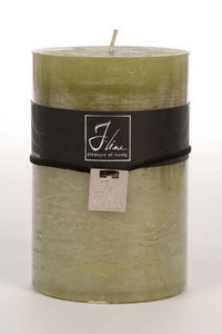 BELDEKO - bougie cylindre vert xl - Candela Rotonda