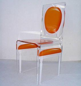 Aitali - chaise acrylique aitali - Sedia