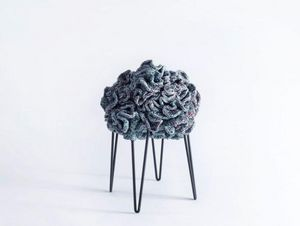 IOTA - flower pouffe stool - Sgabello