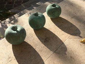 LA VILLA HORTUS - apple bronze- - Frutto Decorativo