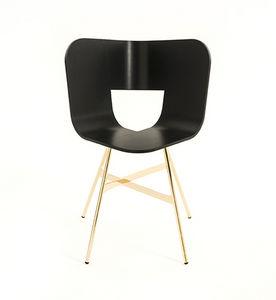 COLE - tria gold chair - Sedia
