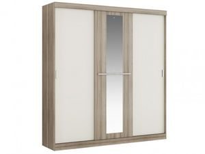 WHITE LABEL - armoire didda - Armadio Biancheria