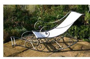 Italian Terrace - rocking chair - Lettino Da Giardino