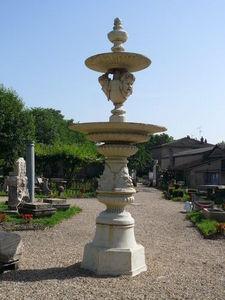 A LA FRANCAISE  -  SMCA - fontaine centrale - Fontana Per Esterno