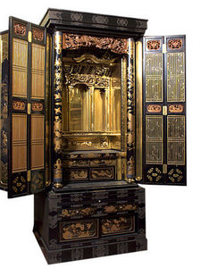 ANTIQUES LACARTA DECORACIÓN - japanese furniture oratorio - Credenza A 2 Elementi