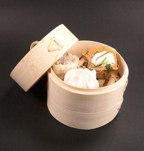 Adiserve - panier bambou - Cestello Per Cottura A Vapore