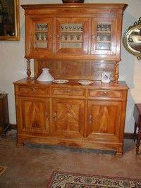 Au Mobilier Vendéen - buffet enfilade 1900 - Credenza A 2 Elementi