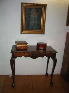 ANTIGÜEDADES BRITANIA - mesa chippendale - Tavolino Di Servizio