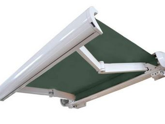 UsiRama.com - store extérieur coffre intégral motorisé vert 3x2m - Tenda Per Esterni
