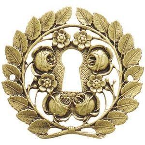 FERRURES ET PATINES - entree de meuble bronze restauration - Bocchetta Per Serratura Mobile