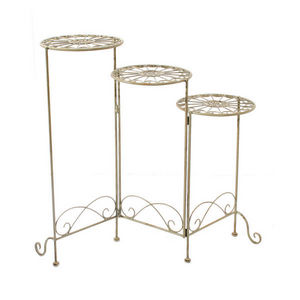 LONDON ORNAMENTS - three tier plant stand - Portavasi