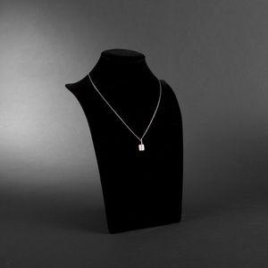 Expertissim - victoria casal. chaîne et pendentif en or gris - Ciondolo