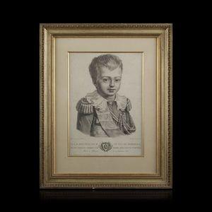 Expertissim - lithographie représentant le duc de bordeaux - Litografia
