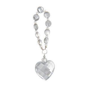 MAISONS DU MONDE - pendant perles et coeur - Ciondolo