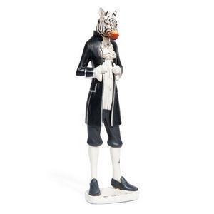MAISONS DU MONDE - zèbre museum - Figurina