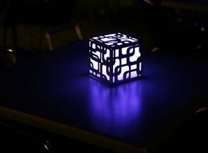 PLENA LUNA - CRYSTAL LIGHT -  - Lampada Da Appoggio A Led