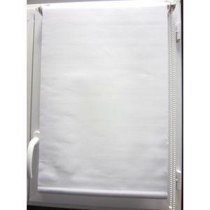 Luance - store enrouleur occultant blanc 60x180 cm - Tenda Avvolgibile