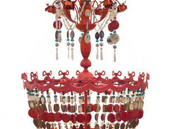 SUSSIEBIRIBISSI - red ribbon - Lampadario