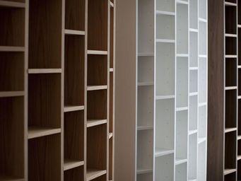 MALHERBE EDITION - bibliothèque concave verticale - Libreria Modulare