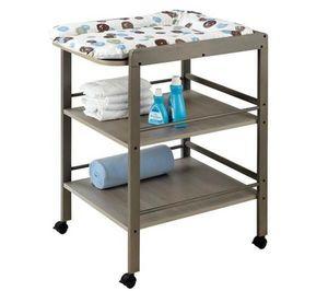 Geuther - table langer clarissa gris - Fasciatoio