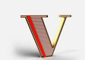DELIGHTFULL - v - Lettera Decorativa