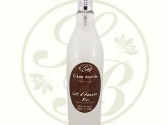 Savonnerie De Bormes - crème douche au lait dânesse bio - 400 ml - savonn - Gel Doccia