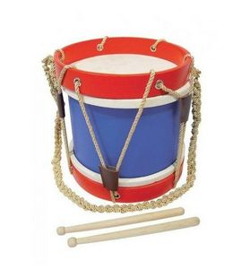 Au Nain Bleu - tambour de fanfare - Tamburo Bambino