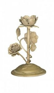 Demeure et Jardin - bougeoir fleurs - Portacandela