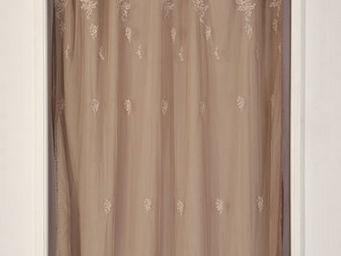 Coquecigrues - paire de rideaux petite fadette lilas - Tende Pronto Uso
