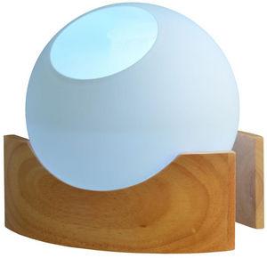 ZEN AROME - brumisateur ambiance boston en verre et bois 23x23 - Diffusore Elettrico