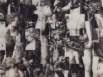 THEVENON - bauchet puzzle - Tessuto D'arredamento
