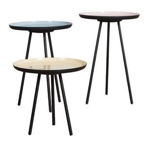 Mathi Design - set de 3 tablettes - Tavolino Per Divano
